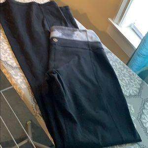 Lululemon Black yoga pants size 6!